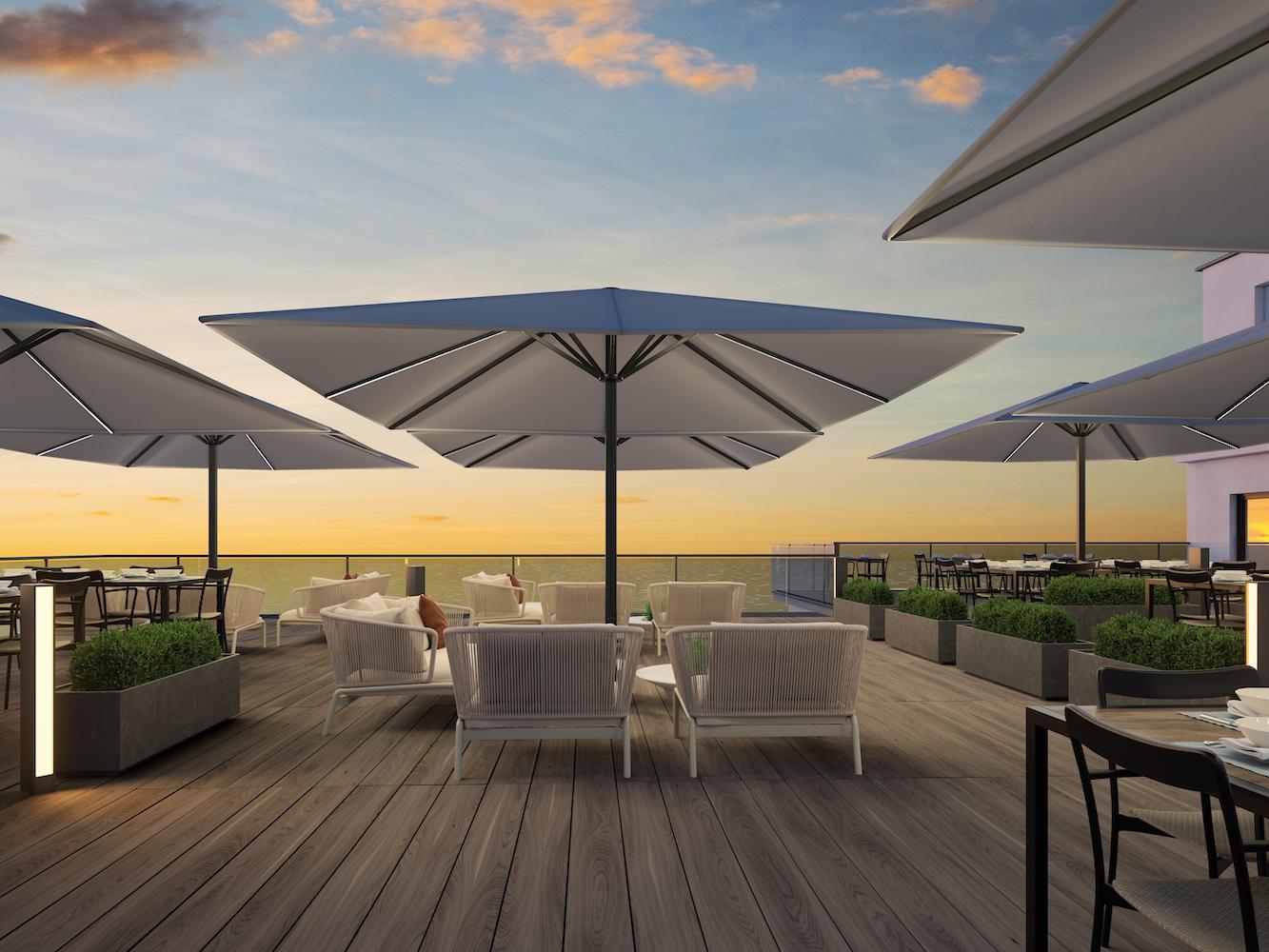 Hotel Umbrella Systems / Hotel Shade Solutions