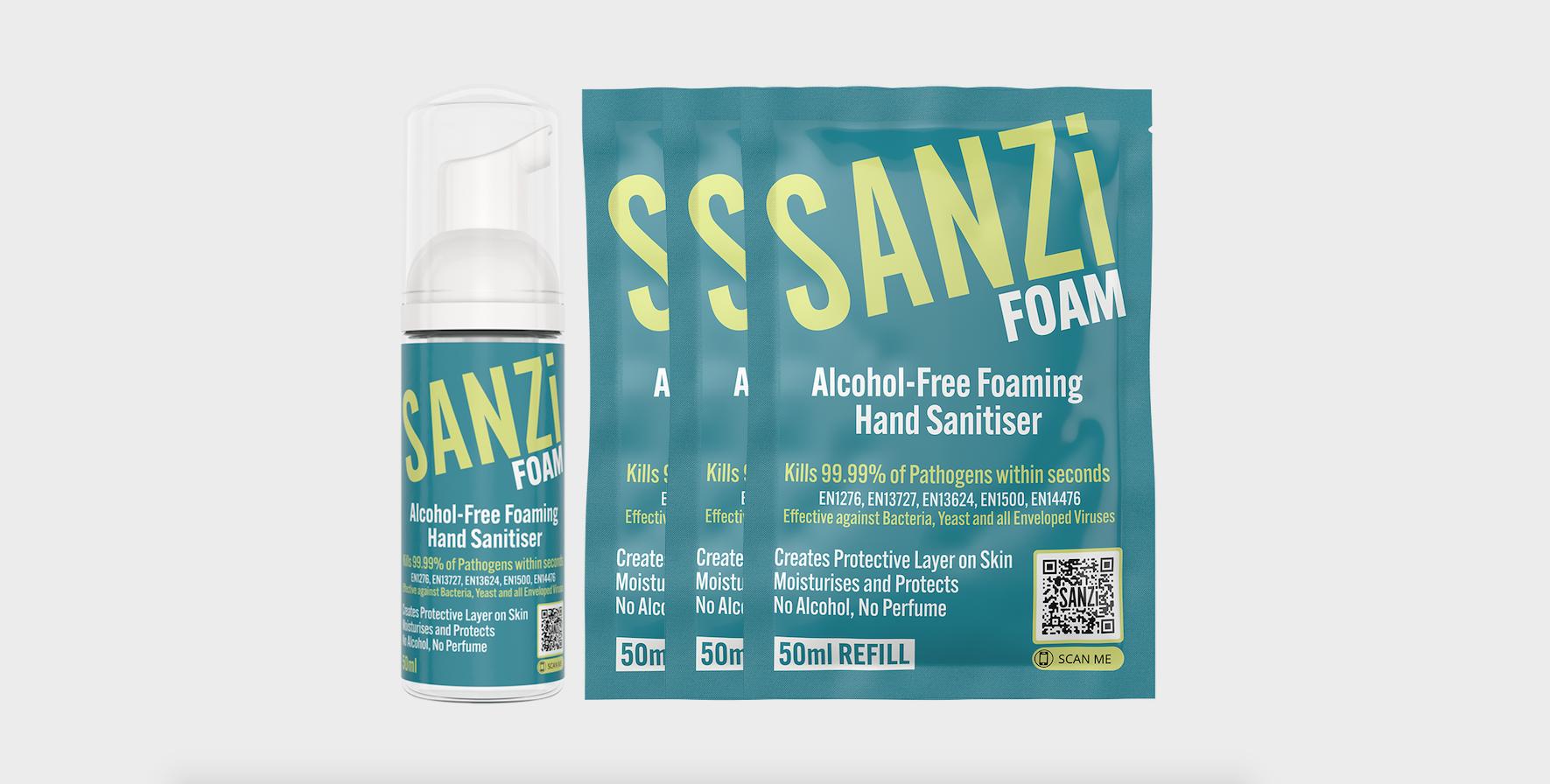 Alcohol-Free Hand Sanitiser for Hotels