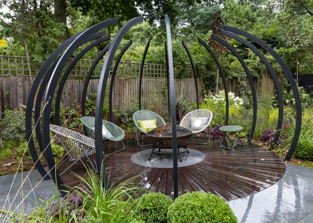 Hotel Garden Design