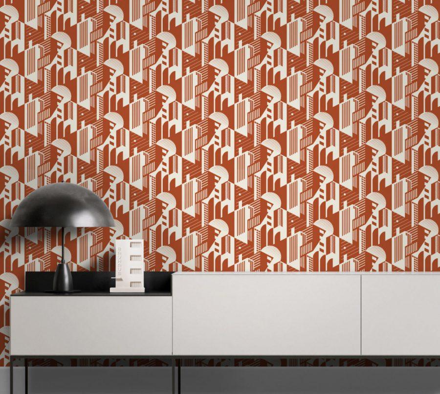 Contemporary Hotel Wallpaper