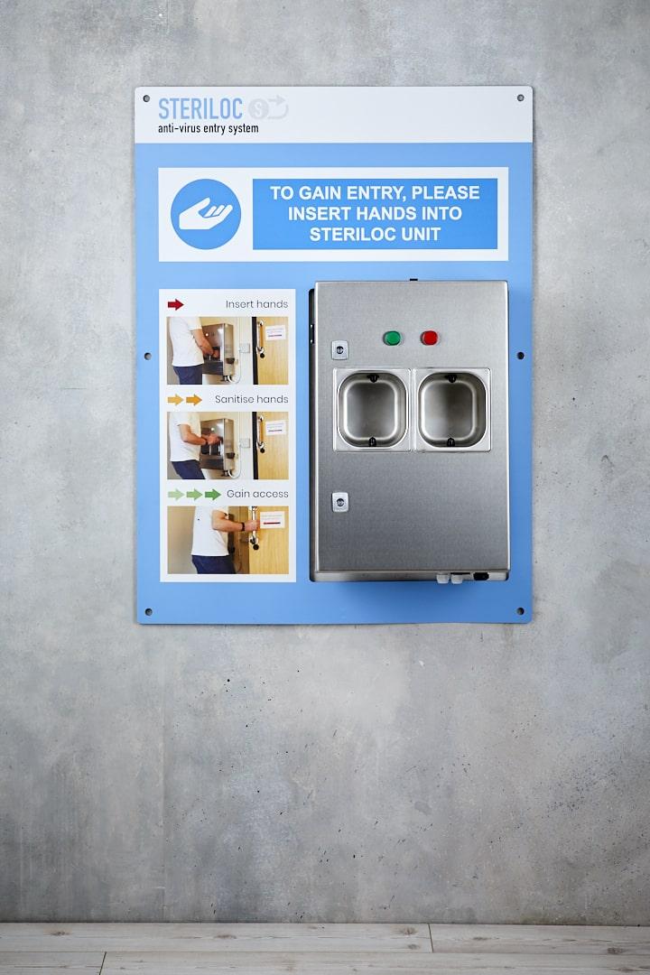 Hotel Hand Sanitiser Units