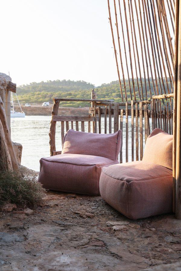 Outdoor Luxury Hotel Pouffes, Luxury Hotel Rugs, Multifunctional Baskets