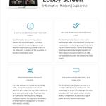 SuitePad Lobby Screen