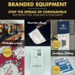 Social Distancing Branded Equipment