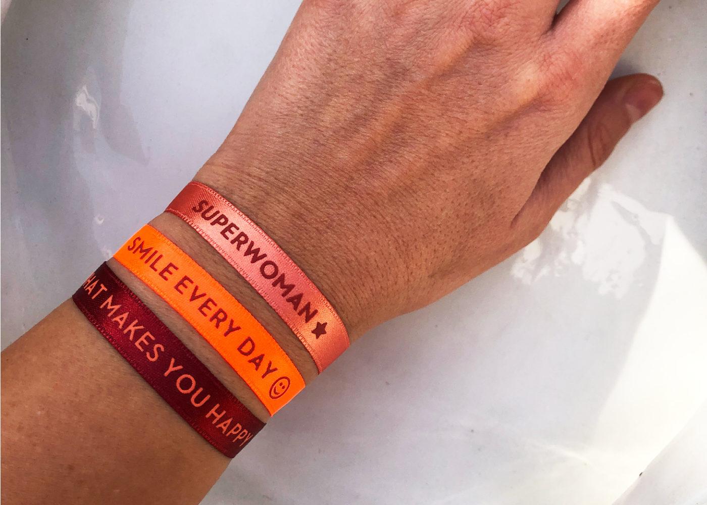 Custom Hotel Bracelets