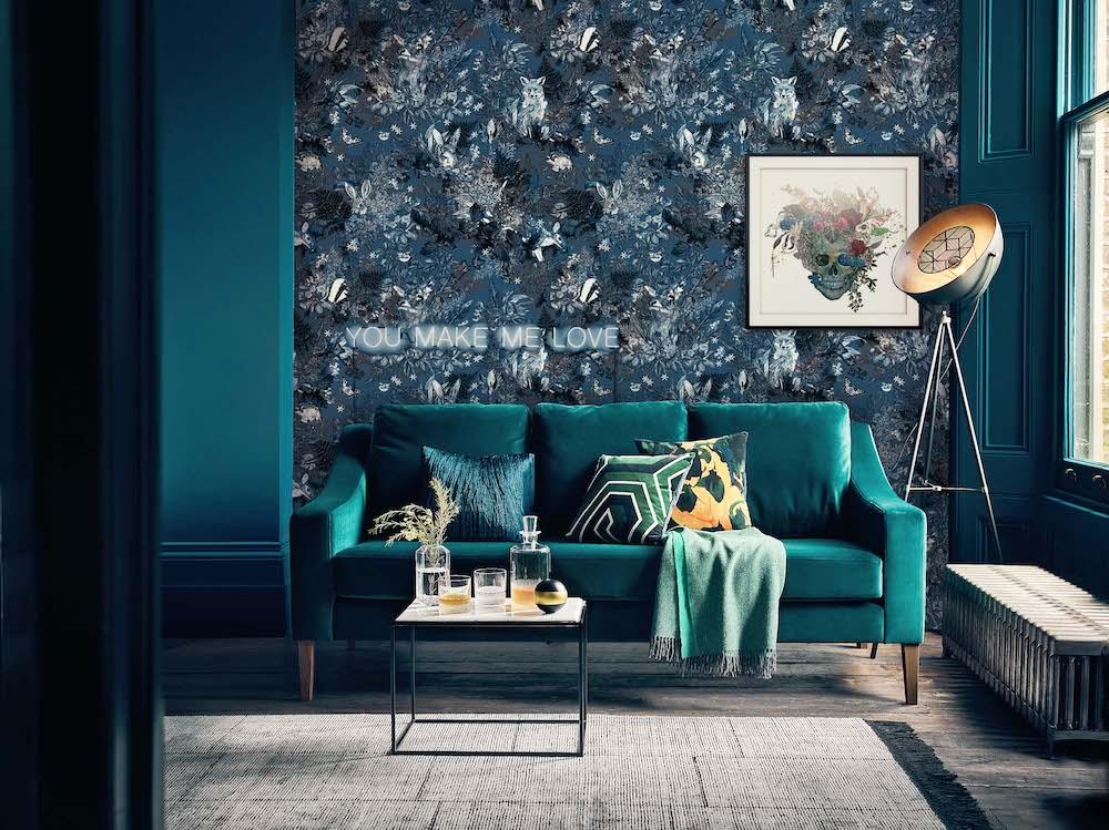 Designer Luxury Hotel Wallcoverings