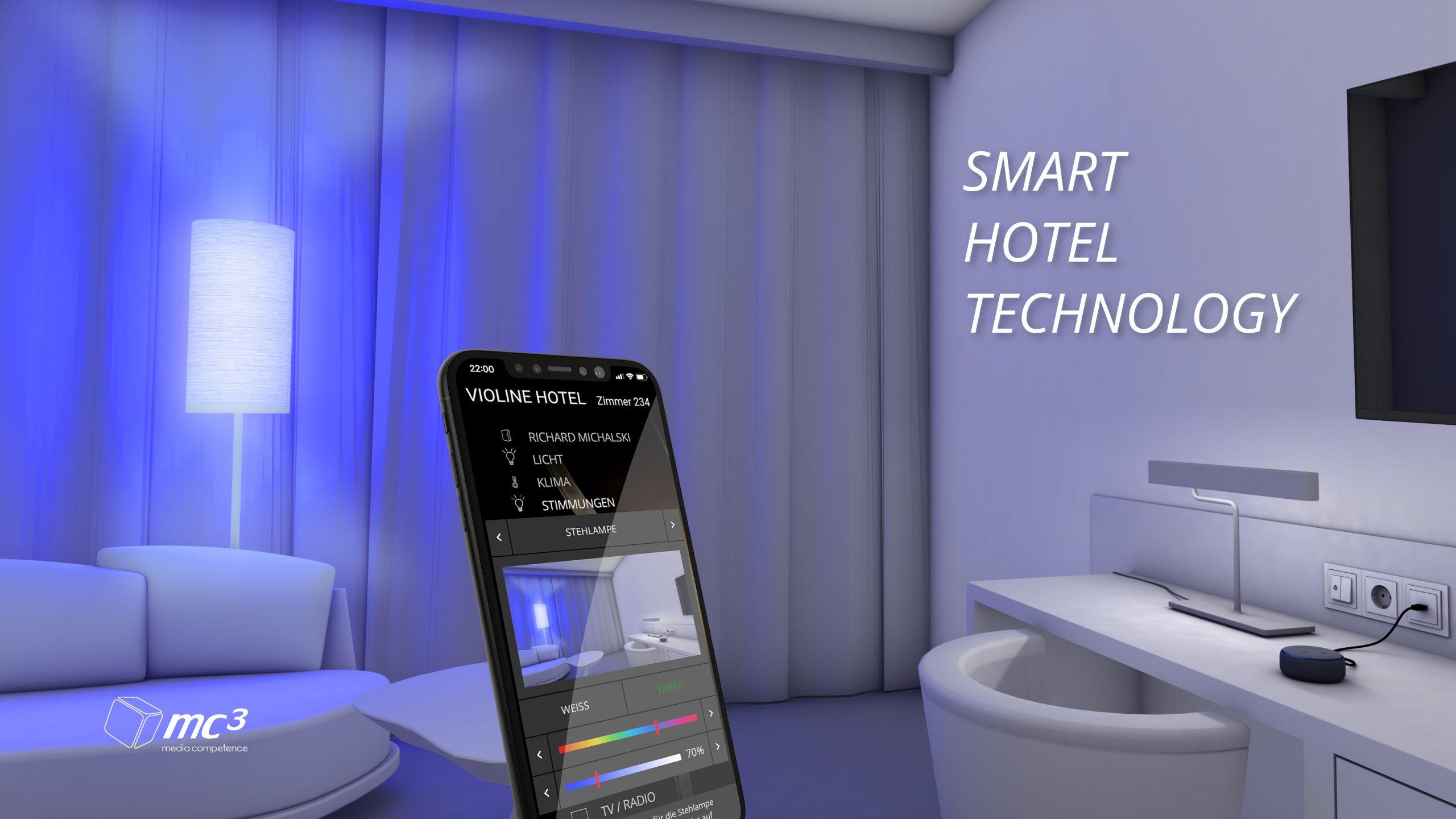 Smart Hotel Technology, Digital Guest Communication, Digital Hotel Signage