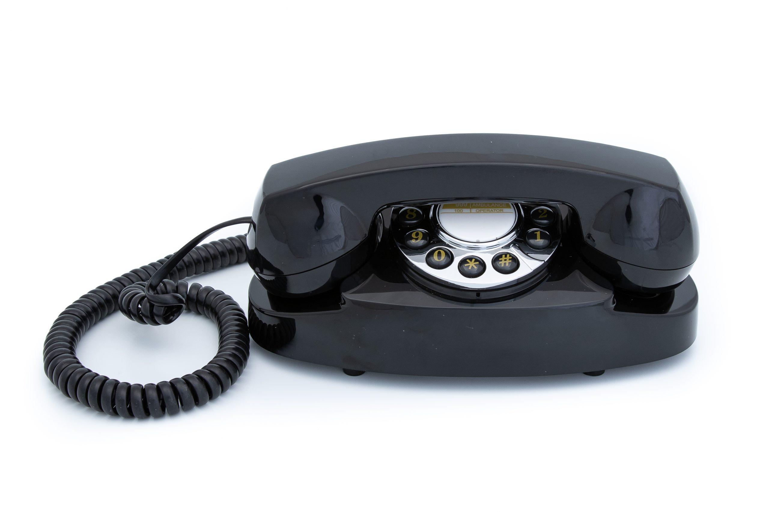Retro Hospitality Phones and Audio Equipment