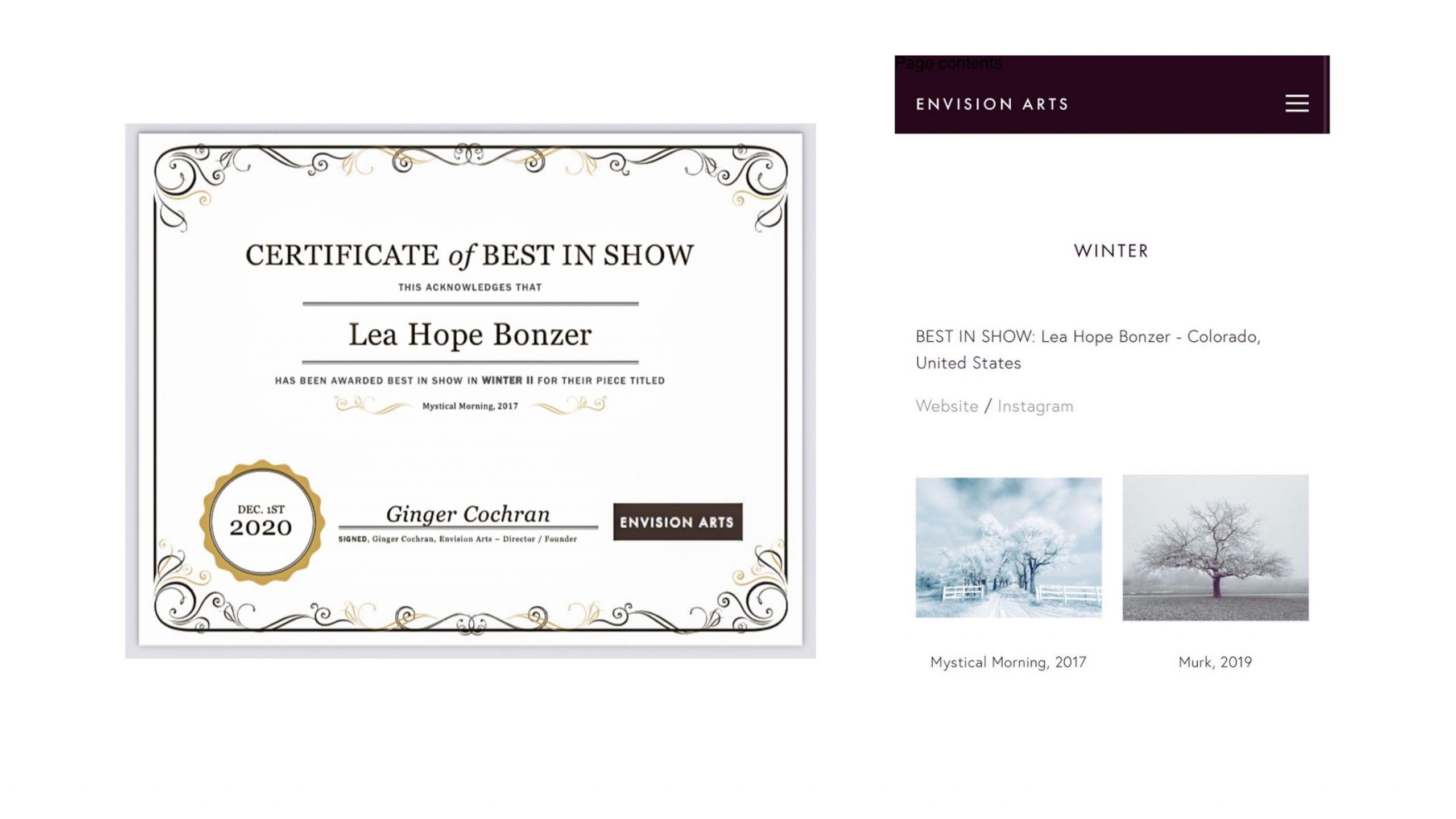 best in show ~ winter
